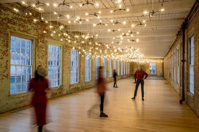 Spencer Finch exhibit , #11, Building 6 at Mass MoCA, North Adams, MA.