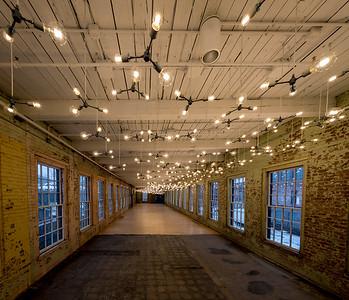Spencer Finch exhibit , #24, Building 6 at Mass MoCA, North Adams, MA.