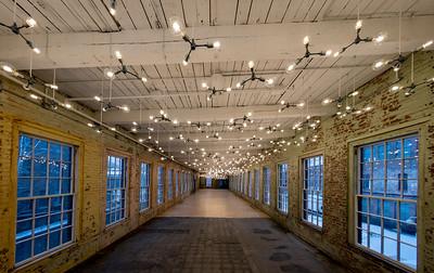 Spencer Finch exhibit , #25, Building 6 at Mass MoCA, North Adams, MA.