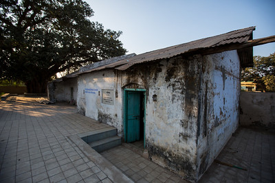 Day 10 - Ankhi. Ginning Mill where Gandhi spent the night. The Salt March Route, 2014, Gujarat, India.