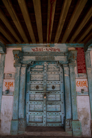 Day 5 - Boriavi. Afternoon halt Patidar Dharamshala. The Salt March Route, 2014, Gujarat, India.