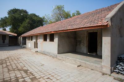 Day 12 & 13 - Samni. Night halt, original building. The Salt March Route, 2014, Gujarat, India.