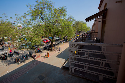 Day 4, Santram Temple, where Gandhi spole and stayed. The Salt March Route, 2014, Gujarat, India.