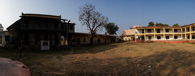 Day 11 - Jambusar. Night halt at Co-operative Gin Mill. The Salt March Route, 2014, Gujarat, India.