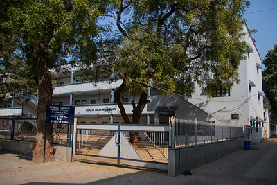 Day 5 & 6 - Anand. DN Highschool. The Salt March Route, 2014, Gujarat, India.