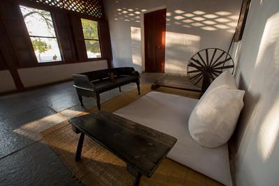 Sabarmati, Gandhi's Ashram, the beginning of The Salt March Route, 2014, Gujarat, India.