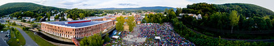 Drone panorama #10 FreshGrass Festival 2016 at MASS MoCA in North Adams, Massachusetts, on September 16-18, 2016
