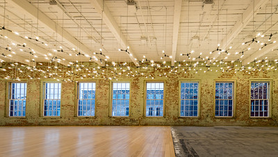 Spencer Finch exhibit , #27, Building 6 at Mass MoCA, North Adams, MA.