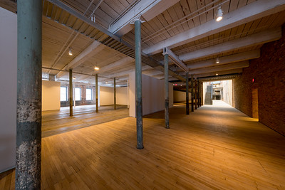 New construction, Building 6 at Mass MoCA, North Adams, MA.