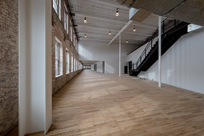 Event space #1, Building 6 at Mass MoCA, North Adams, MA.