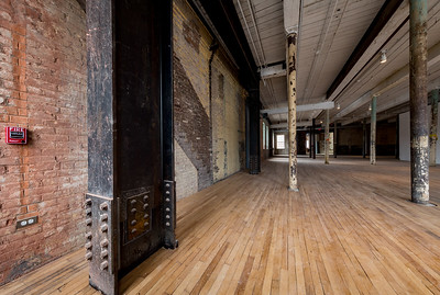 south Hall 2nd Floor, #5, Building 6 at Mass MoCA, North Adams, MA.