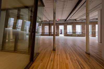 Lauri Anderson's space #2, Mass MoCA, North Adams MA.